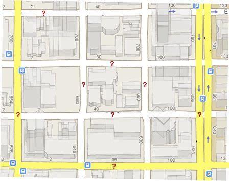 map of what are streets?