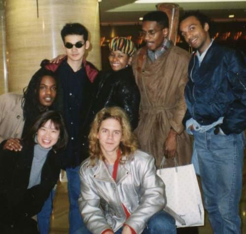Ryuichi Sakamoto's band - 1992